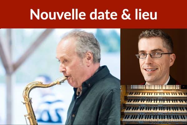 Savoie (saxophone) et Brouillette (orgue)