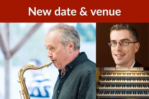 Savoie, saxophone & Brouillette, organ