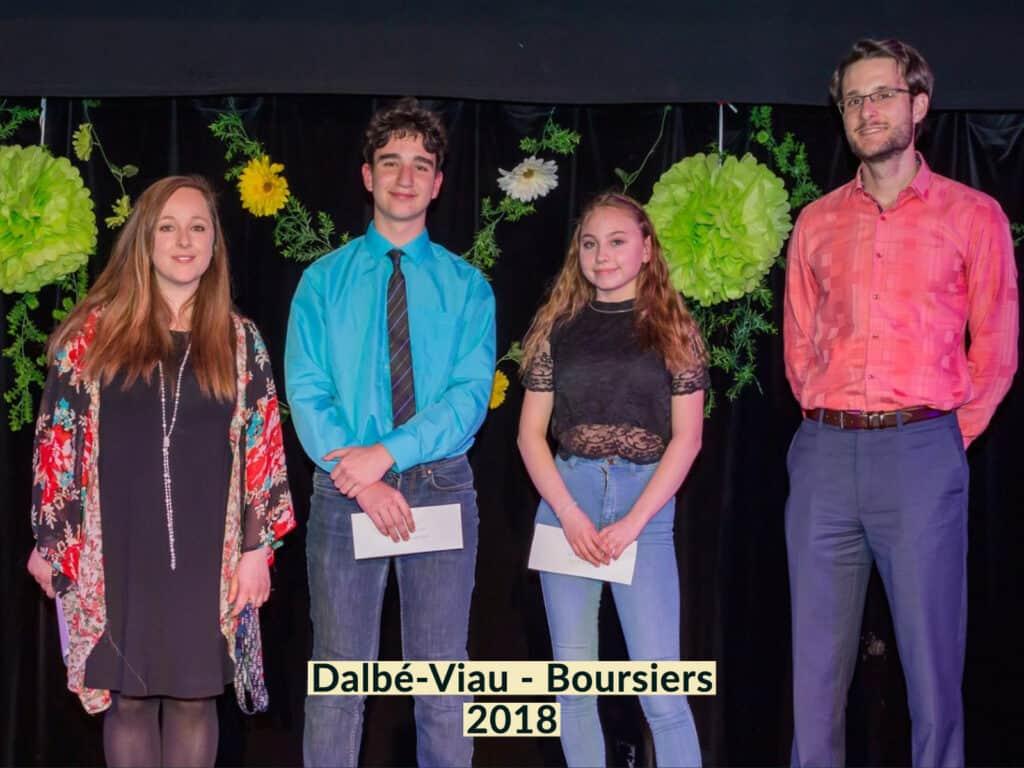 Boursier Dalbé-Viau 2018