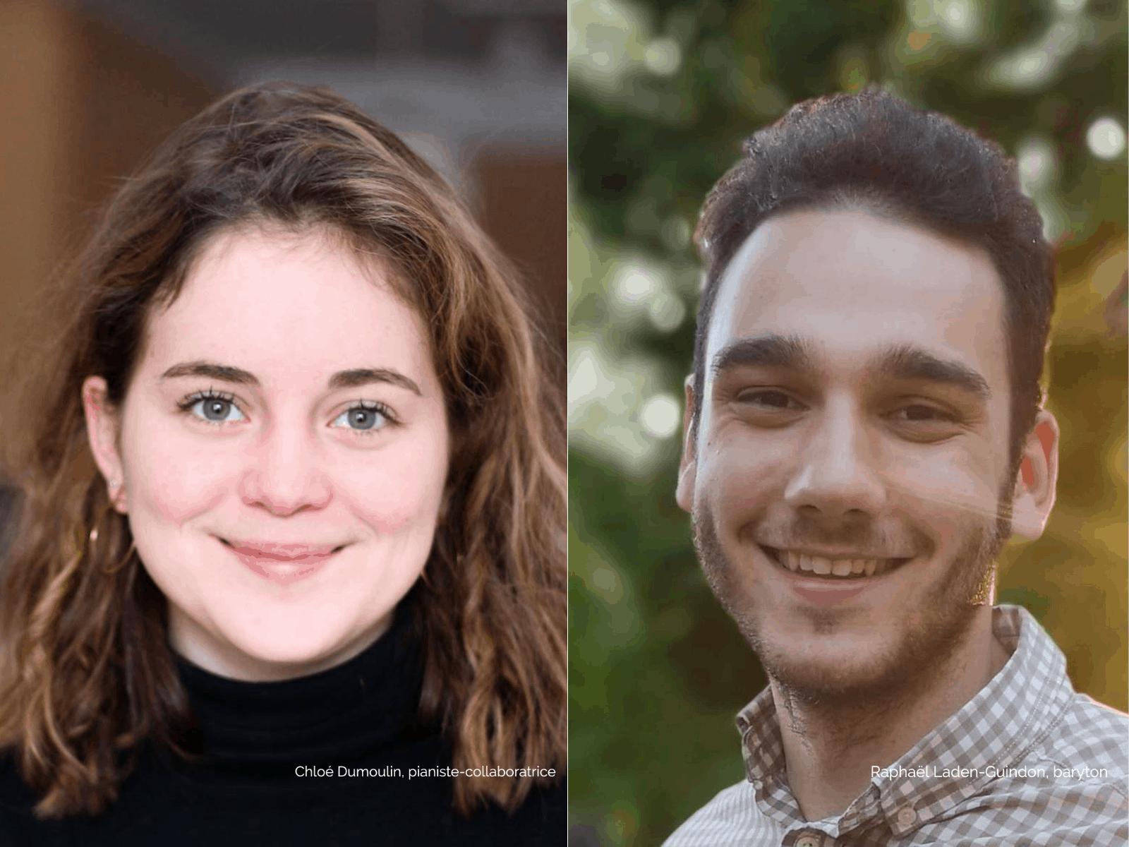 Chloé Dumoulin et Raphaël Laden-Guindon